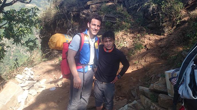 Un médecin urgentiste du SAMU 04 revient du Népal