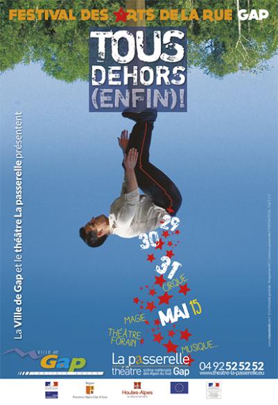 Du 29 au 31 mai 3ème Festival arts de la rue Tous dehors (enfin)!