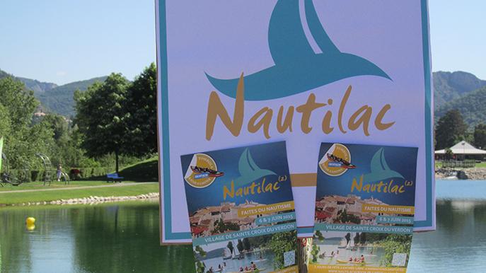 Deuxième édition pour Nautilac à Sainte-Croix du Verdon