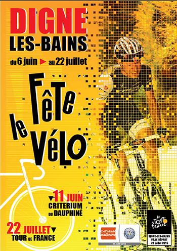 A Digne, on fête le vélo en prévision du Tour de France