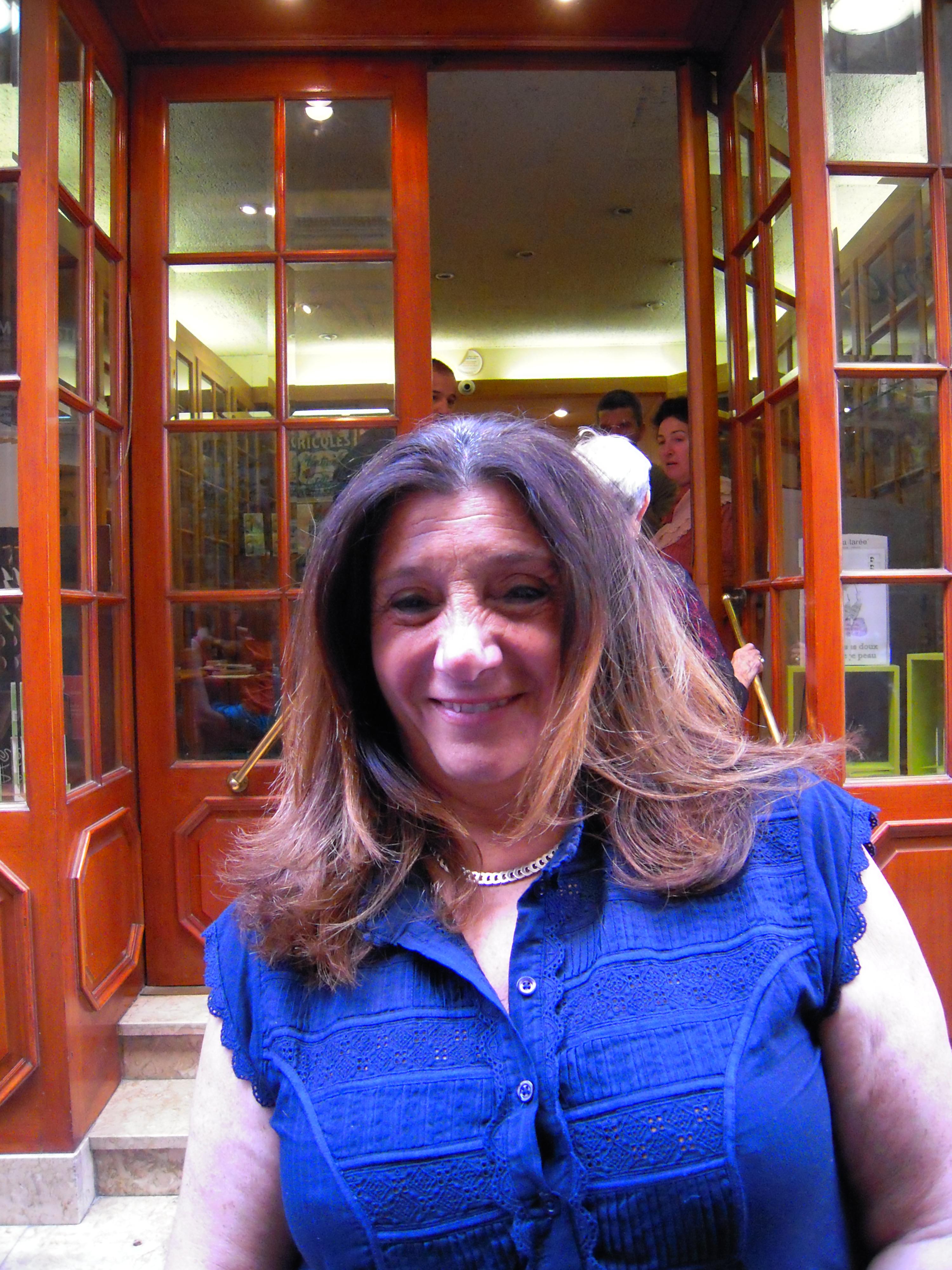 Solange Biaggi, Adjointe au maire chargée du commerce, de l'artisanat, des Professions libérales et du Centre Ville.