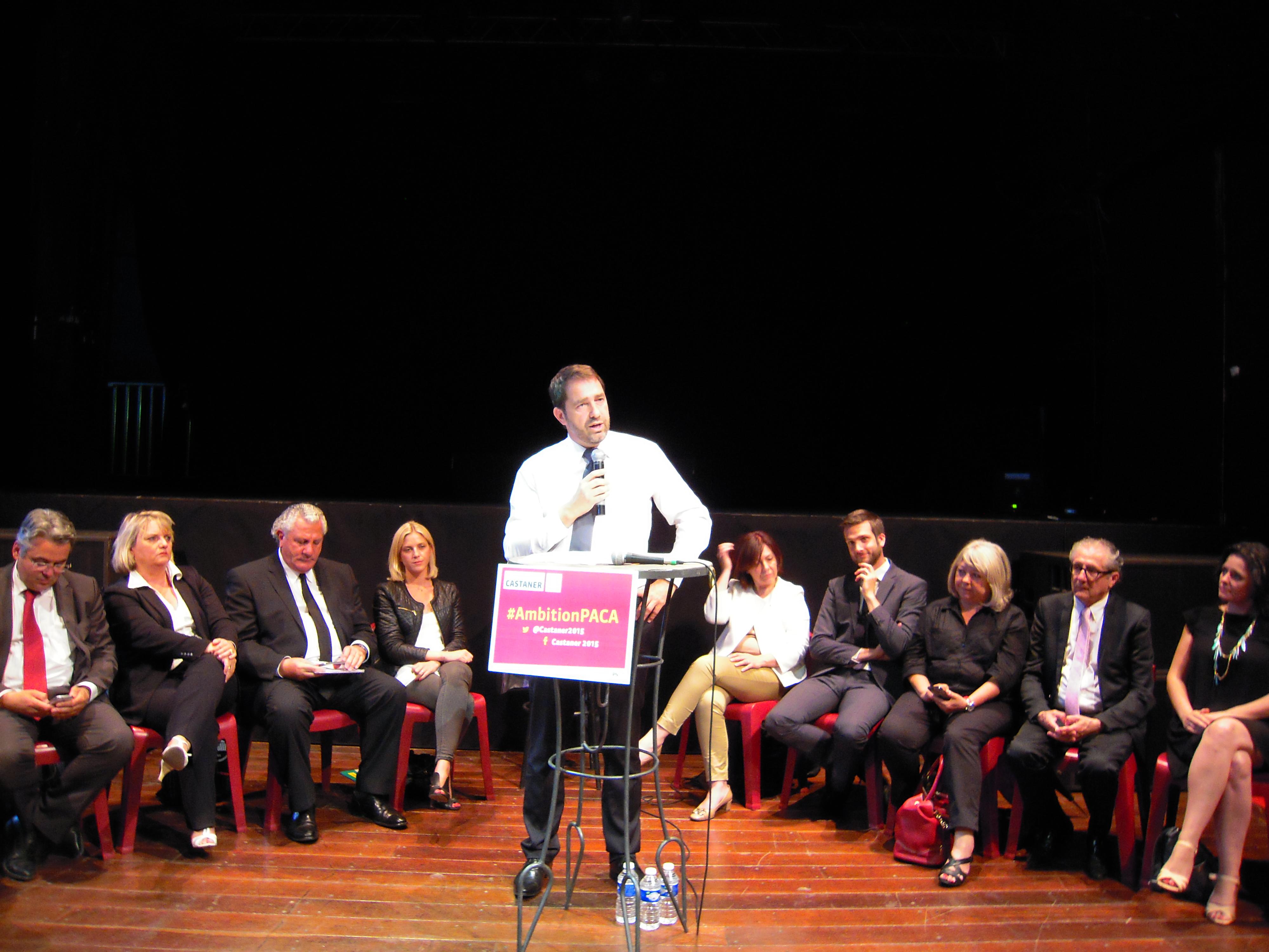 Christophe Castaner a lancé sa bataille pour les Régionales à Marseille