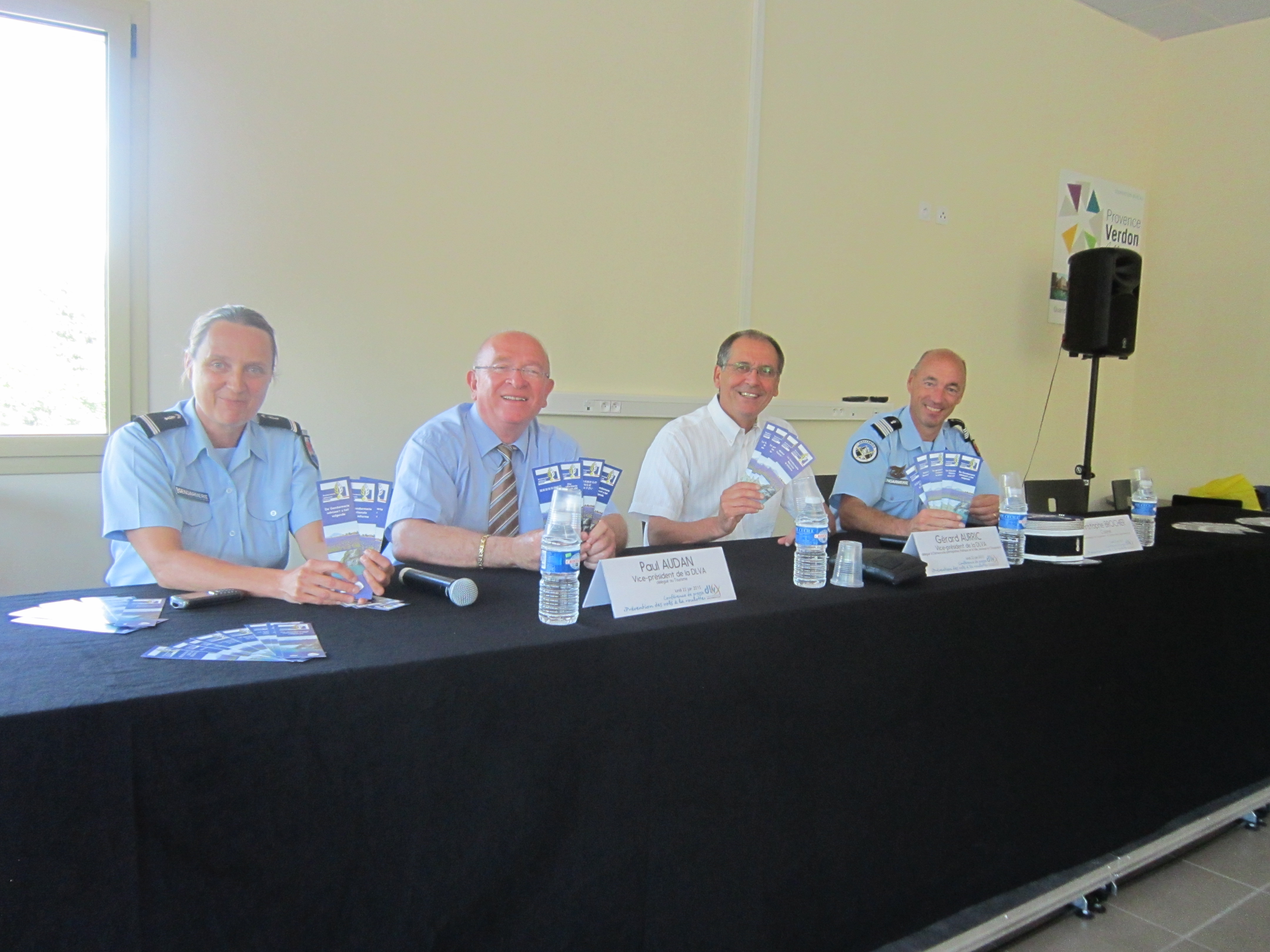 Opération prévention et communication de la Gendarmerie aux pays des lavandes