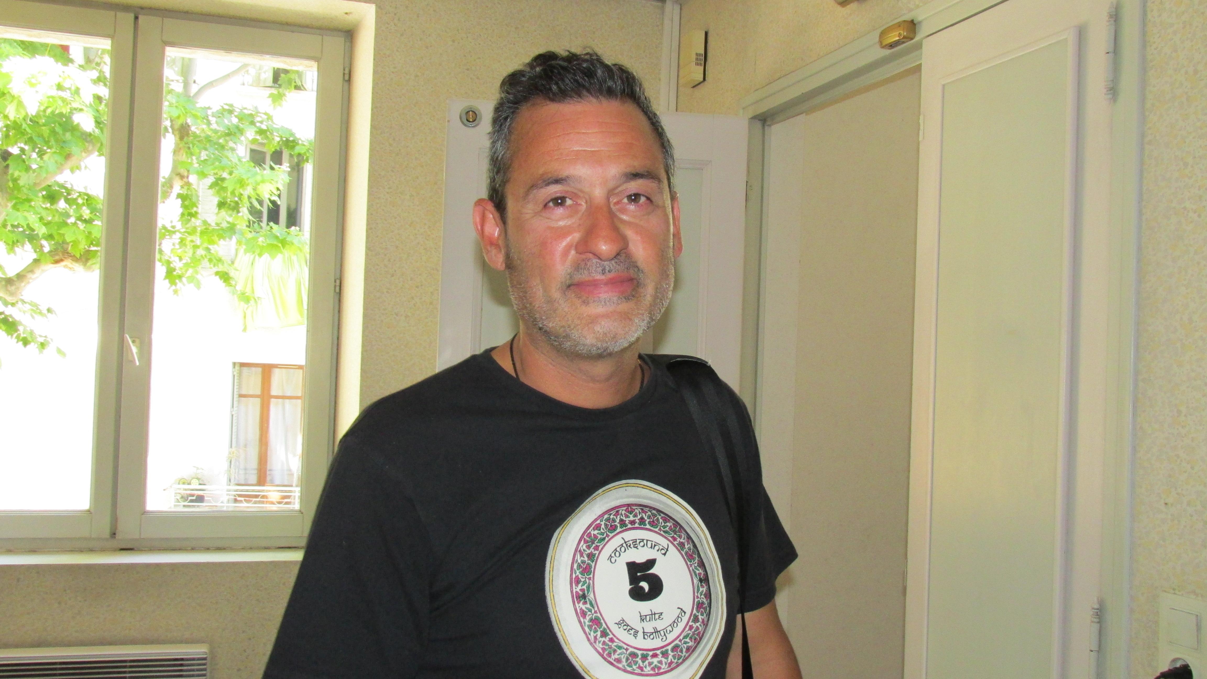 Laurent Couby, créateur du Cook Sound Festival