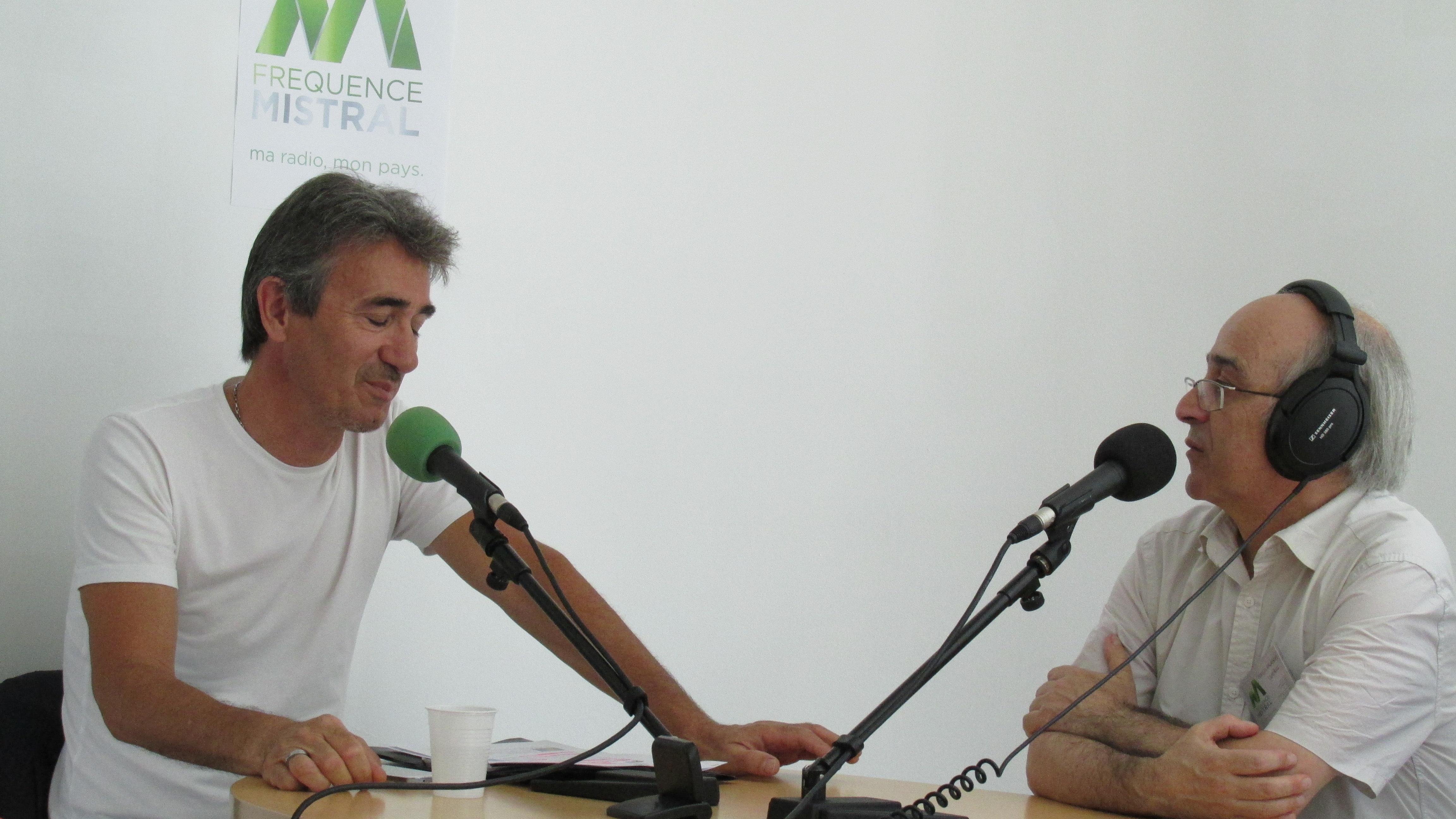 Inauguration des nouveaux studios de Fréquence mistral Manosque le 19 juin