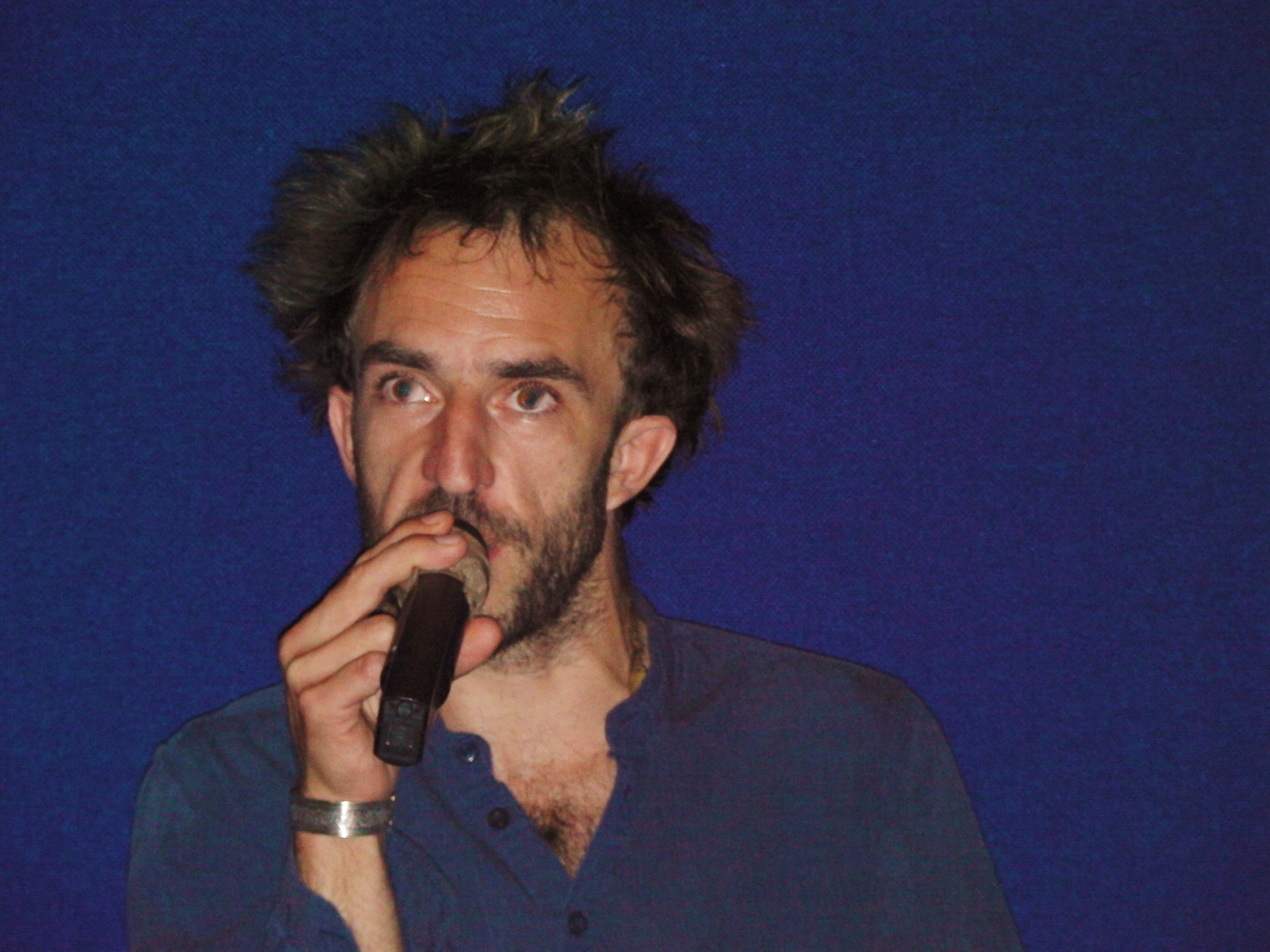 Le réalisateur Axel Salvatori-Sinz au cinéma Le Lido à Manosque
