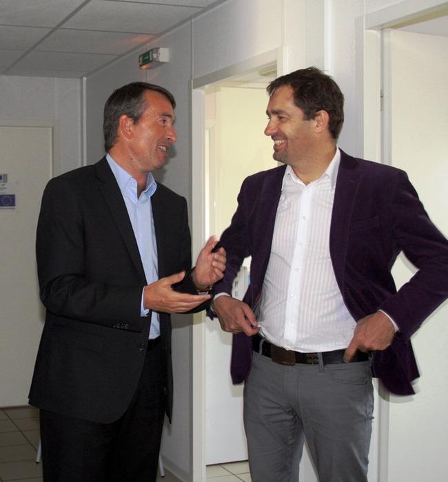 Jean-Luc Monteil et Christophe Castaner @site de Jean-Luc Monteil