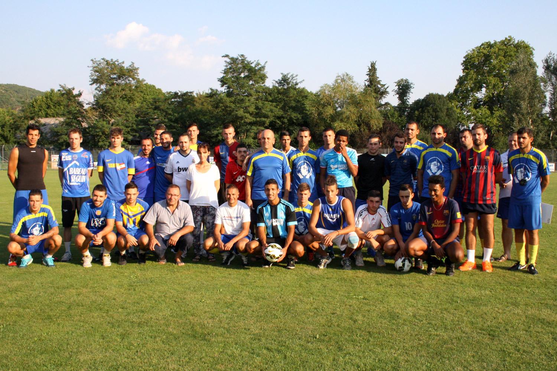 Après les rugbymen sisteronais, les footballeurs de la cité de Paul Arène se sont retrouvés afin de préparer la nouvelle saison !