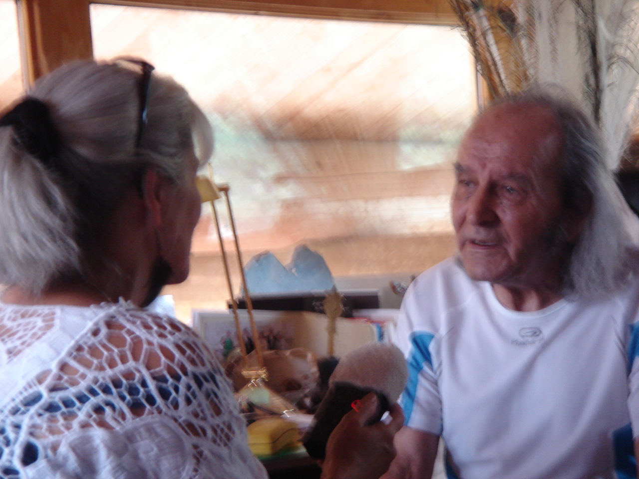 Rencontre avec le Père Guy Gilbert à la ferme de Faucon dans les Gorges du Verdon