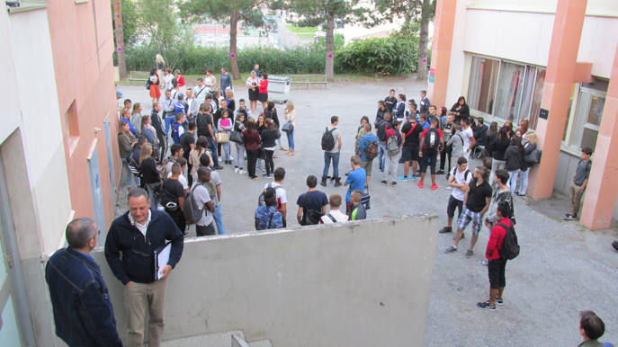 Les apprentis dignois sont rentrés hier au nouveau campus universitaire (ex CFA).