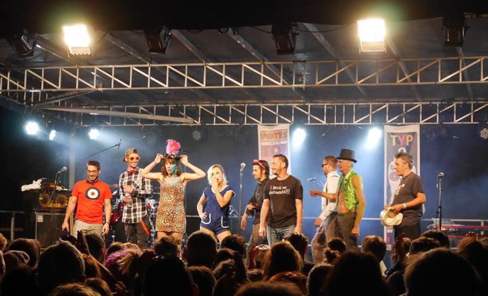 Plus de 2000 personnes rassemblées autour de la musique et du Festival des Potes of the Top