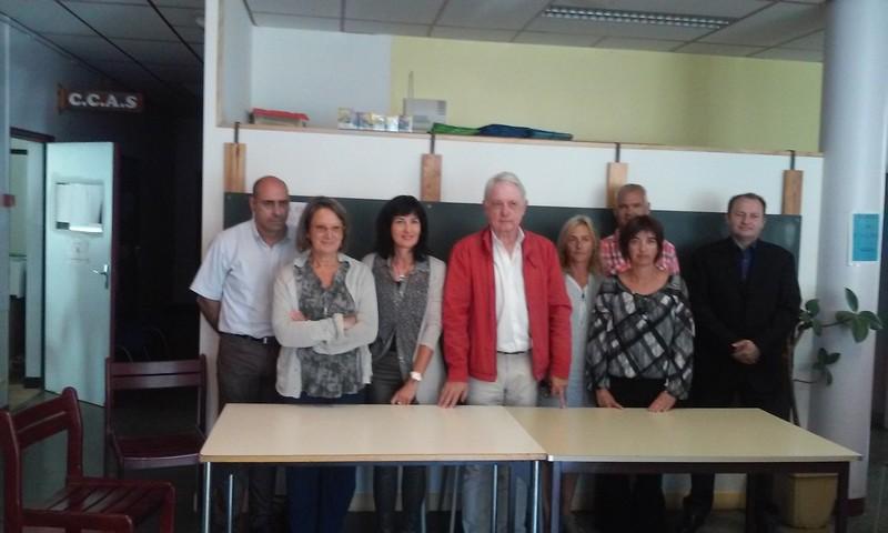 Lancement de la Mutuelle Communale en présence de Mr le Maire Gérard Fromm