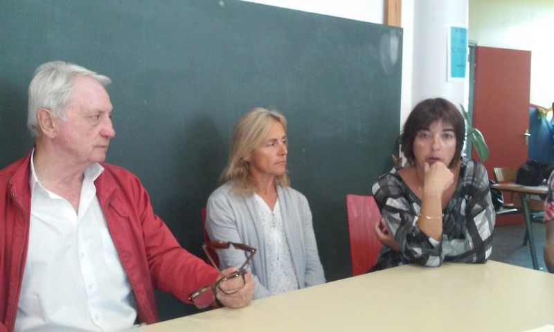 Gérard Fromm, Bernadette Reynouard et Catherine Guigli