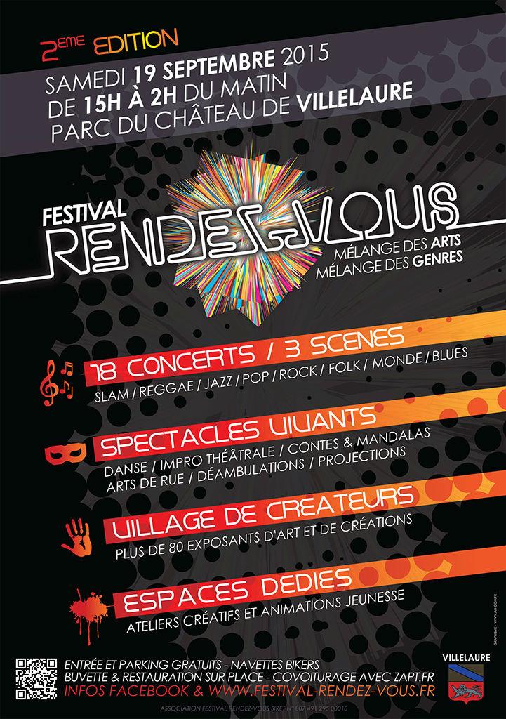 2ème édition du Festival Rendez-Vous samedi 19 septembre