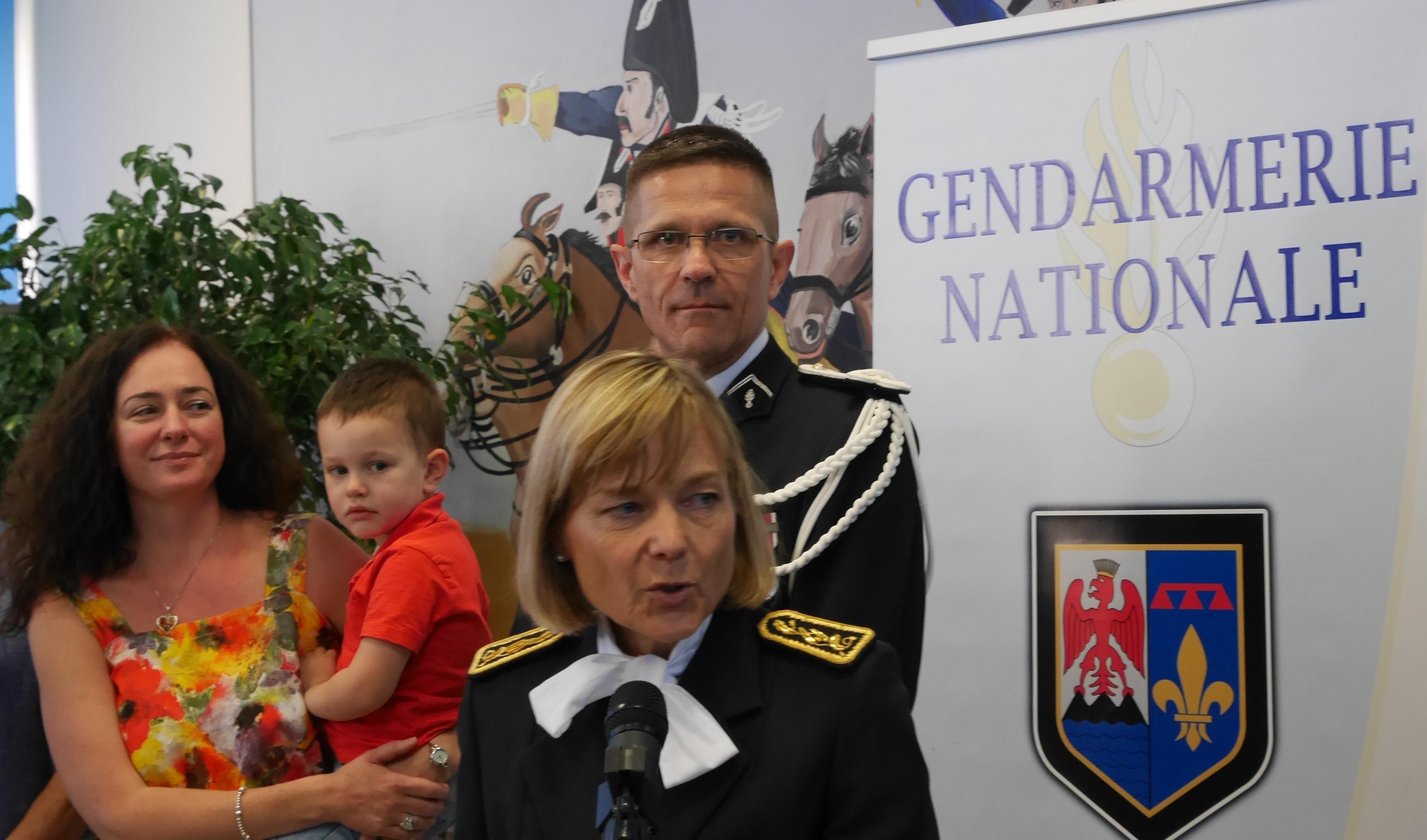 Un nouveau commandant pour le groupement de gendarmerie des Alpes de Haute Provence.