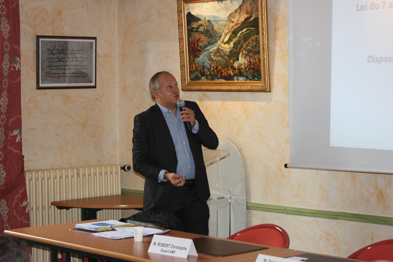 La Mairie de Sisteron a accueilli une réunion d'information sur la loi NOTRE !