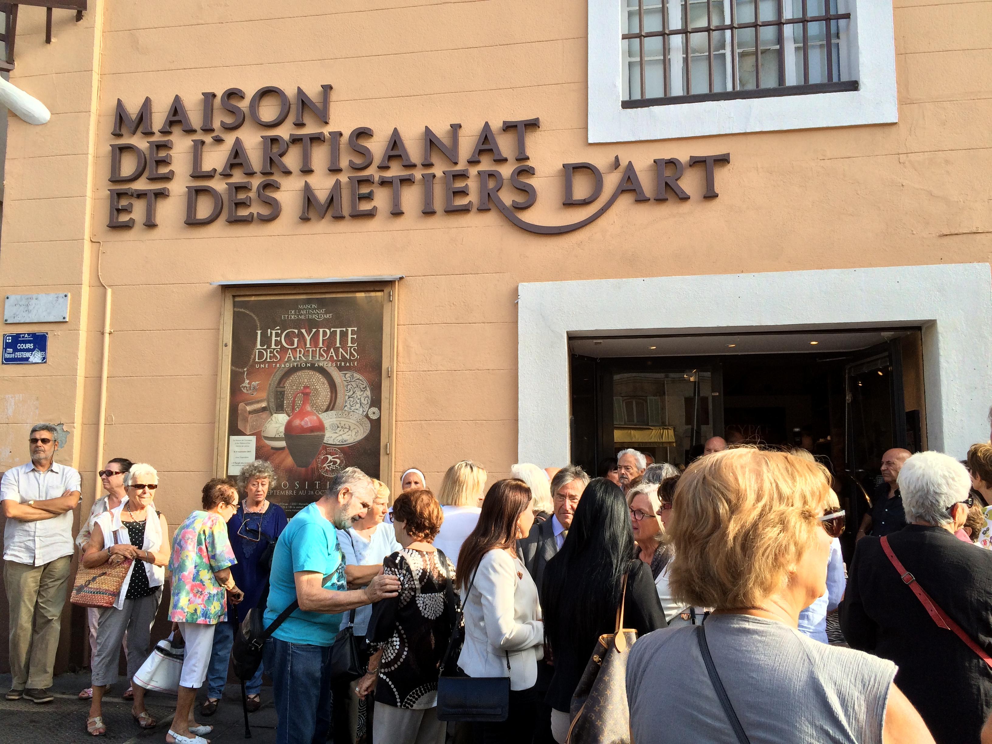 Marseille met l'Egypte des artisans dans son cœur de ville