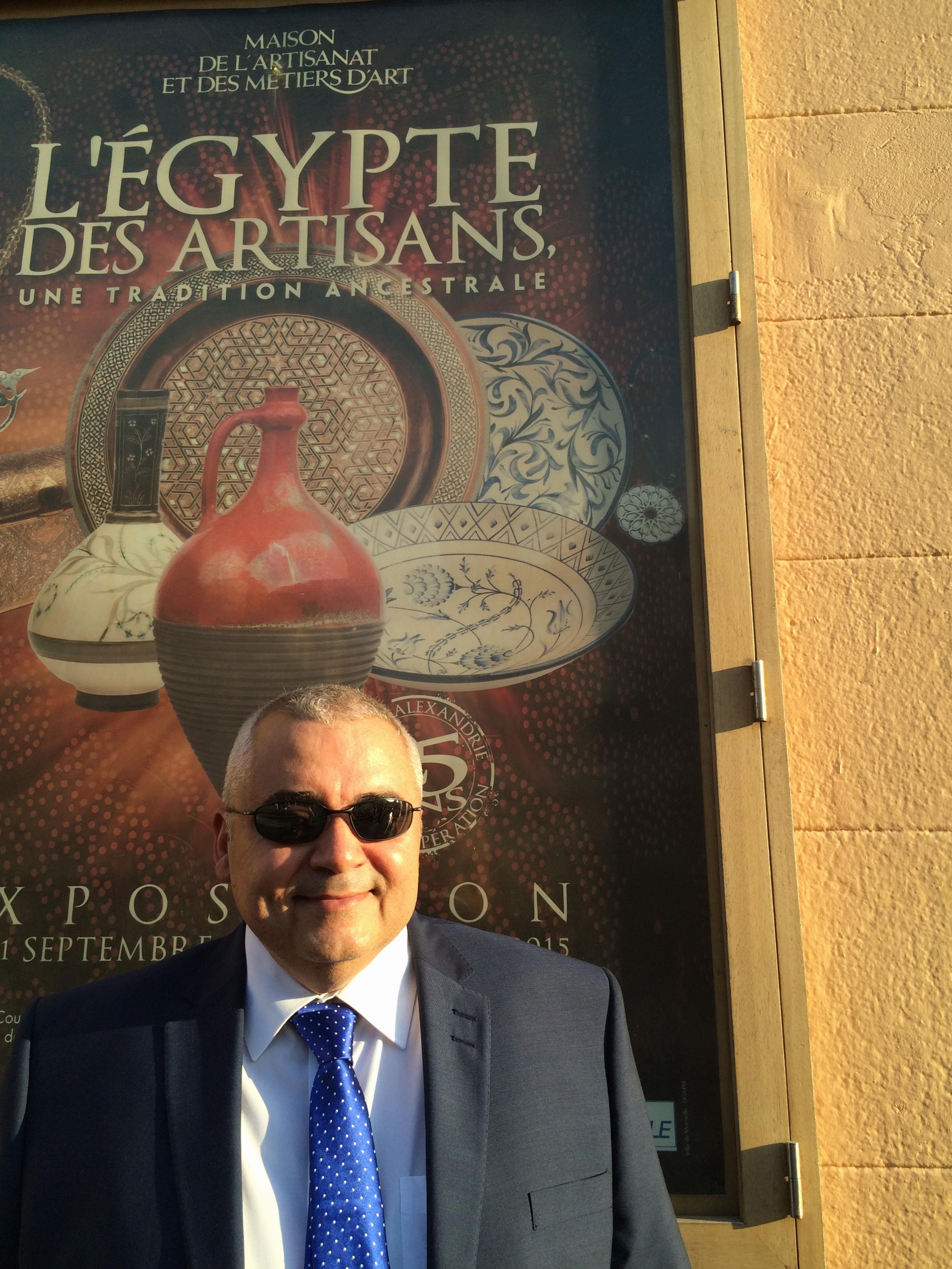 Le Consul Général d'Egypte à Marseille, Tarek Youssef