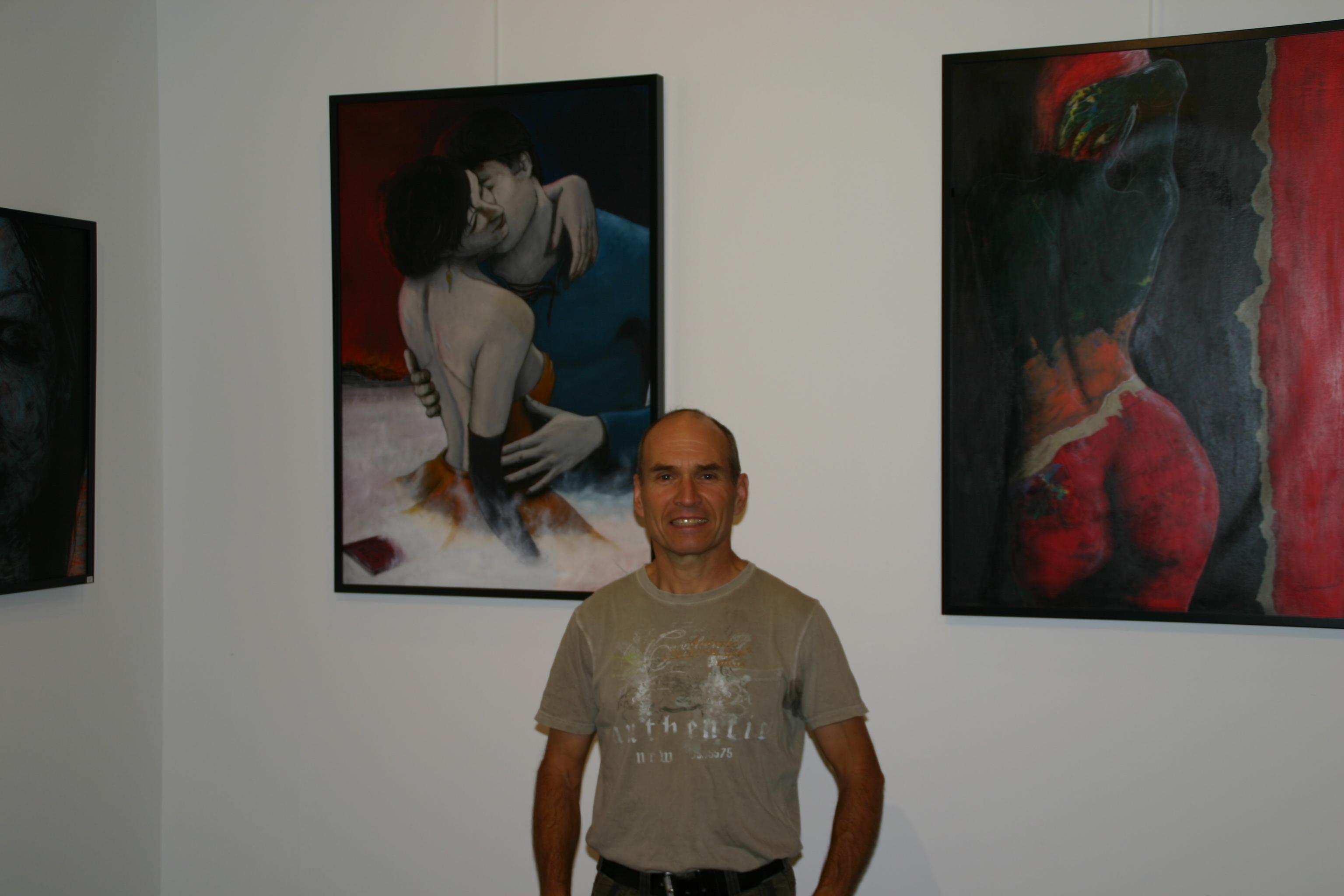 Le peintre upaixois Alain Chauvet expose à Gap