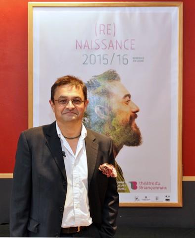 Frank-Eric Retière : Directeur du Théâtre du Briançonnais