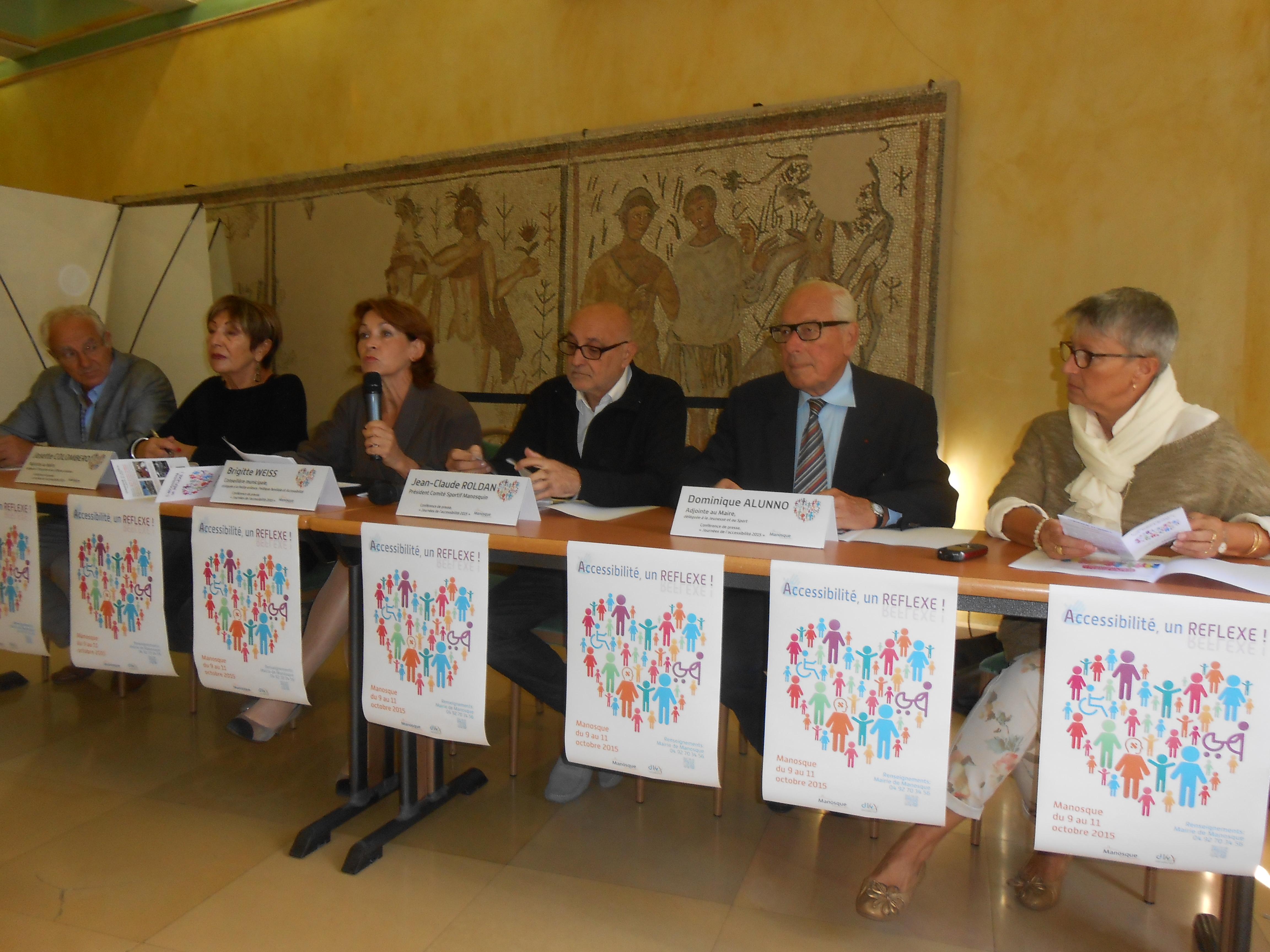 Trois jours pour l'accessibilité dans la Cité de Giono