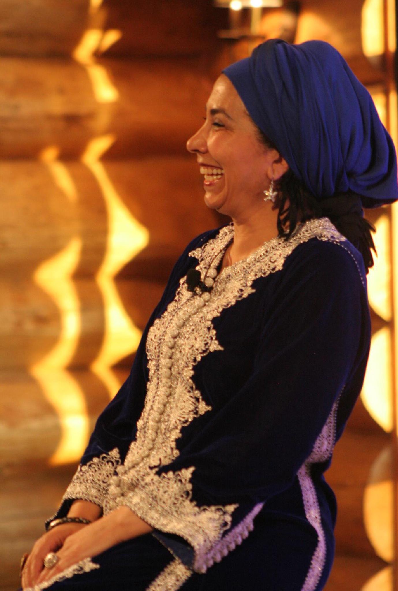 Halima Hamdane, conteuse