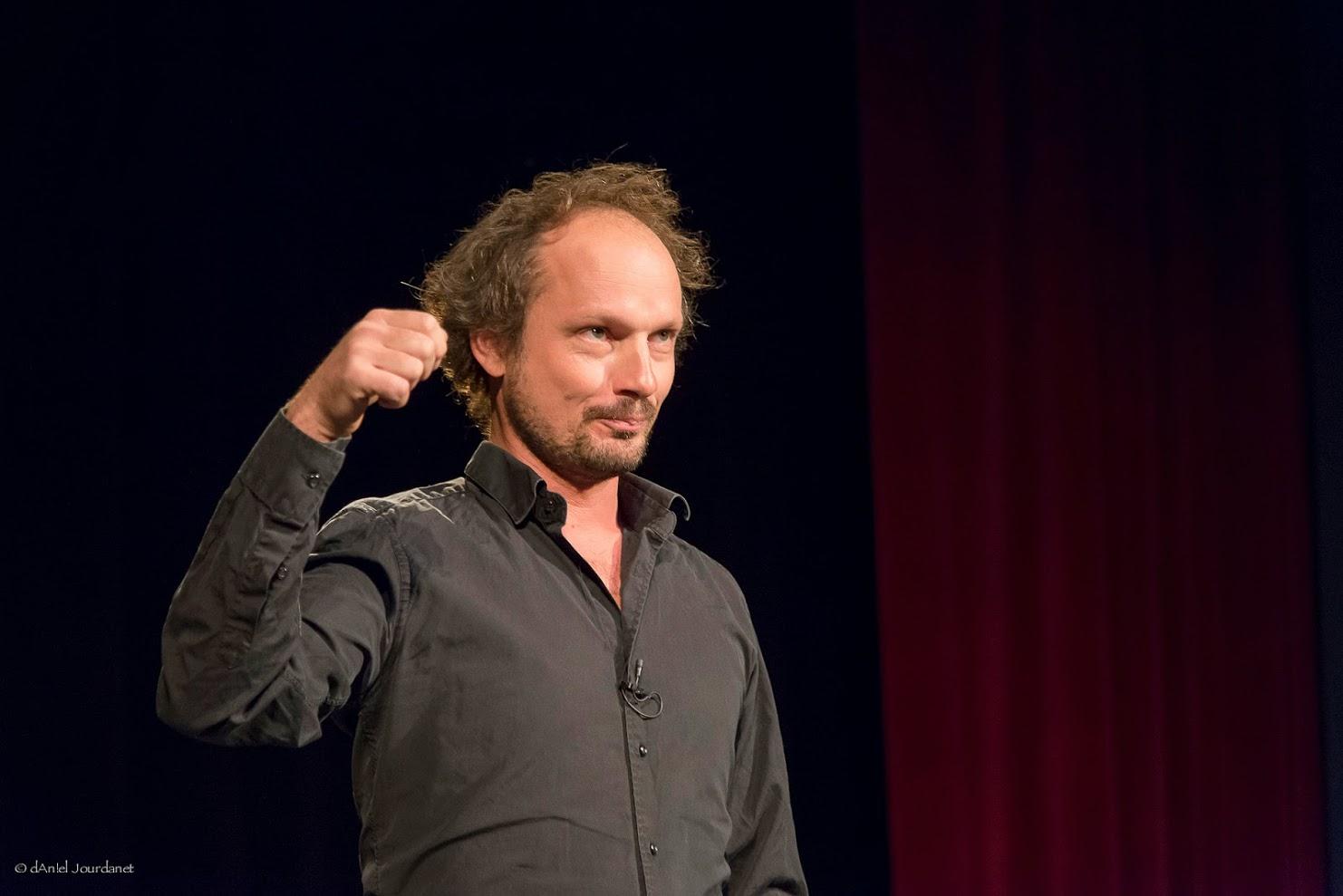 Olivier Villanove, conteur