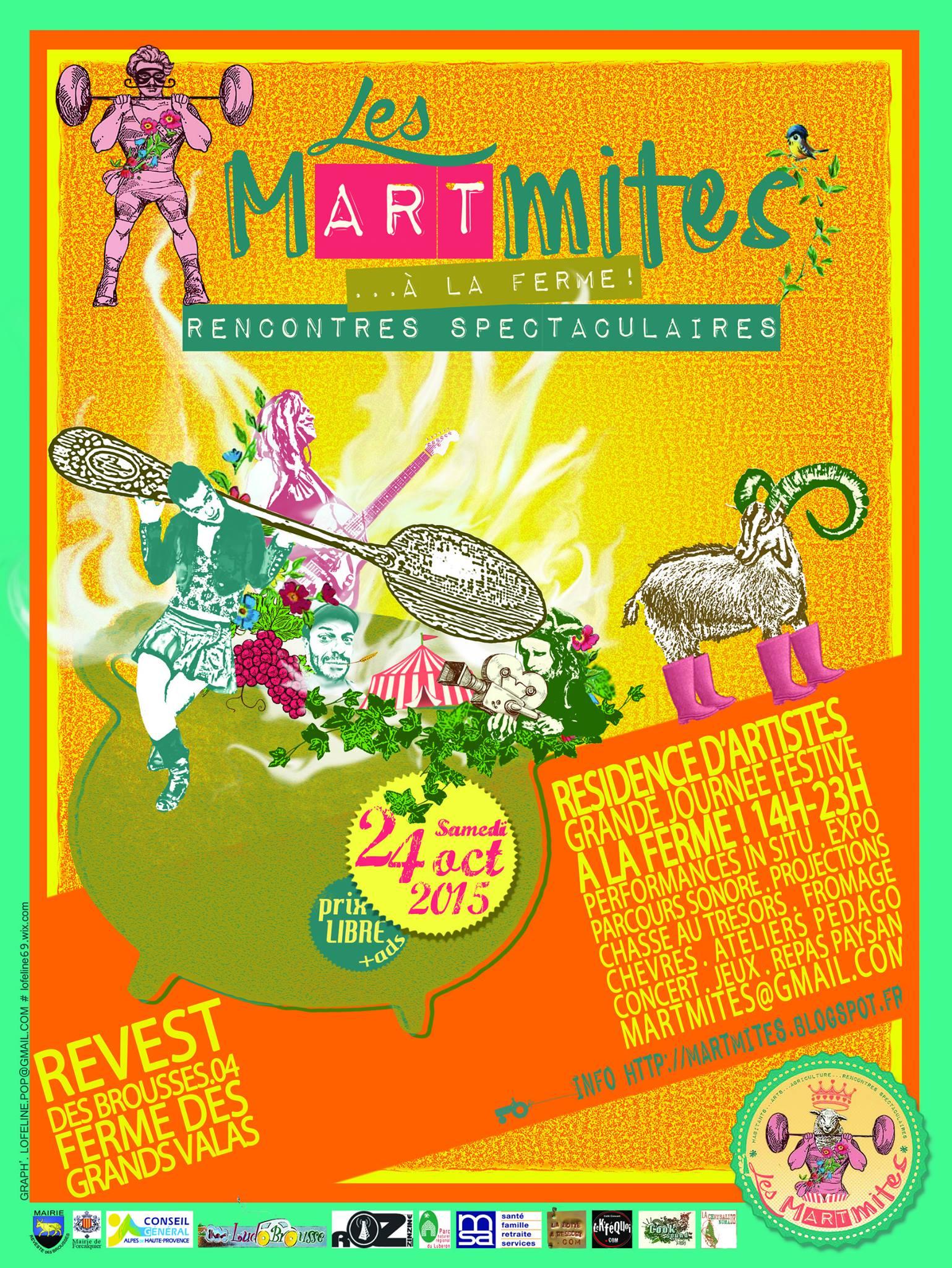 Les MARTmites remettent le couvert d'automne à Revest des Brousses