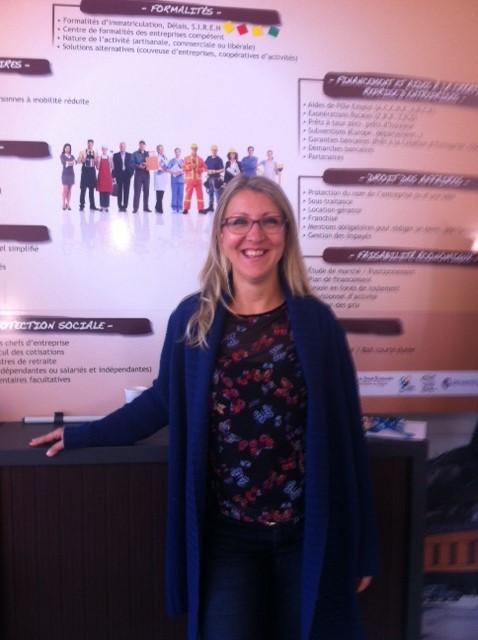 Marina Holtz - agent de la Communauté de Communes du Briançonnais