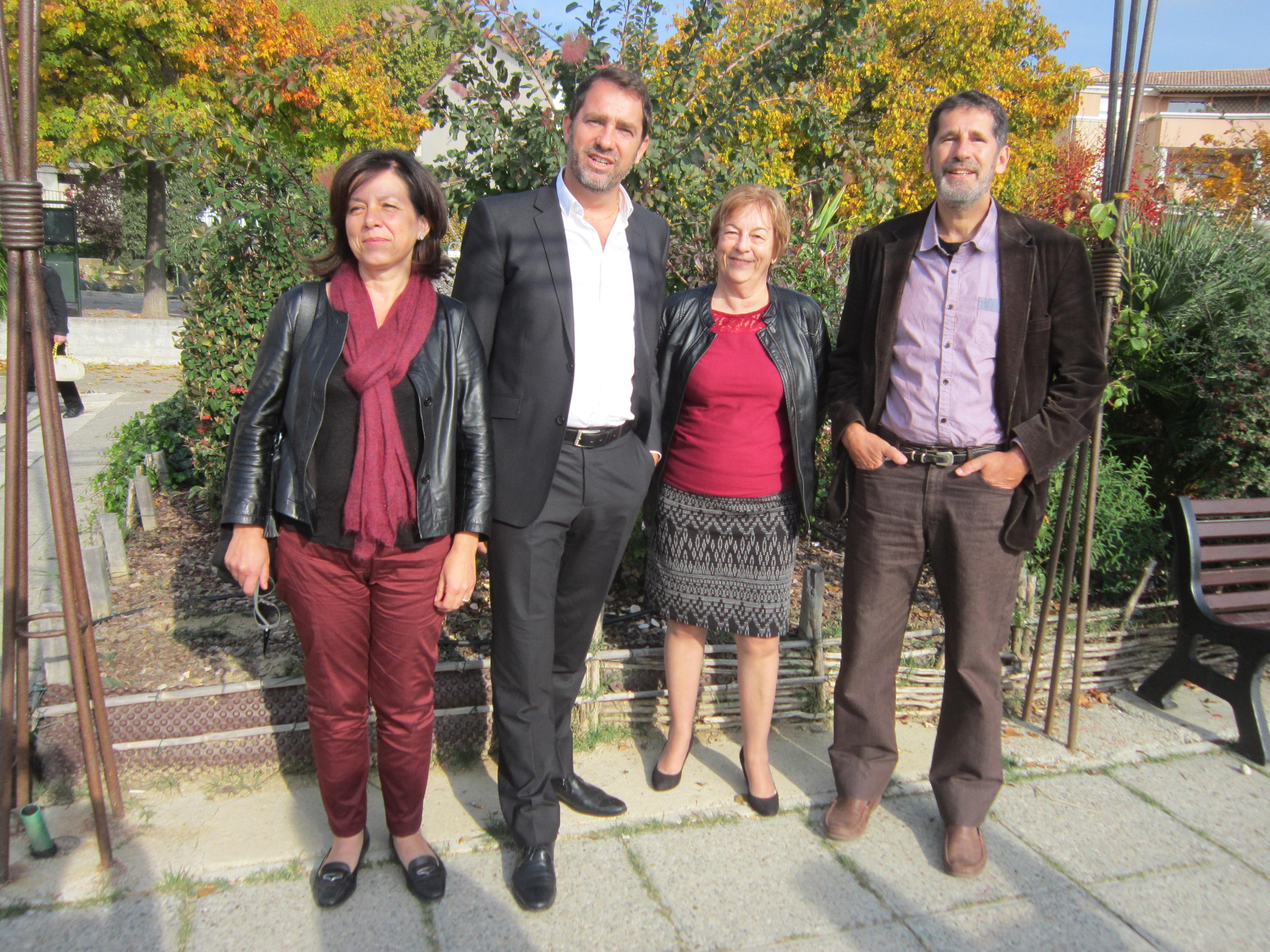 Christophe Castaner porte les couleurs et les ambitions du PS pour les élections régionales