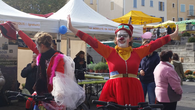 La petite reine était à l'honneur pour une journée de la mobilité à Digne