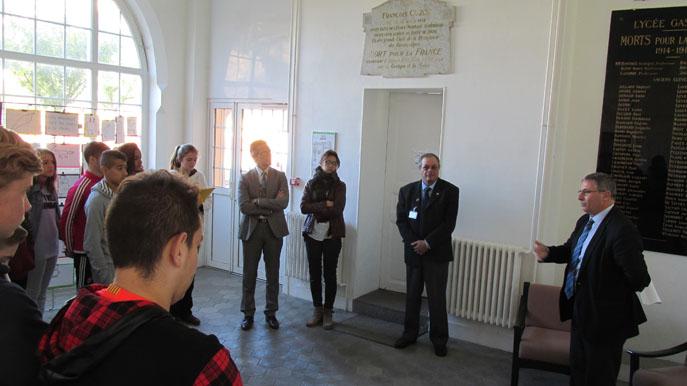 Des collégiens dignois se préparent à la commémoration du 11 novembre