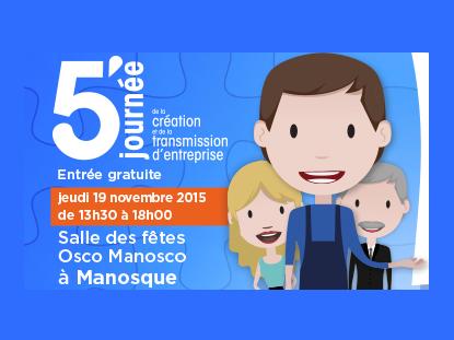Initiative Haute Provence : bienvenu à la journée de la Création et Transmission d'entreprise