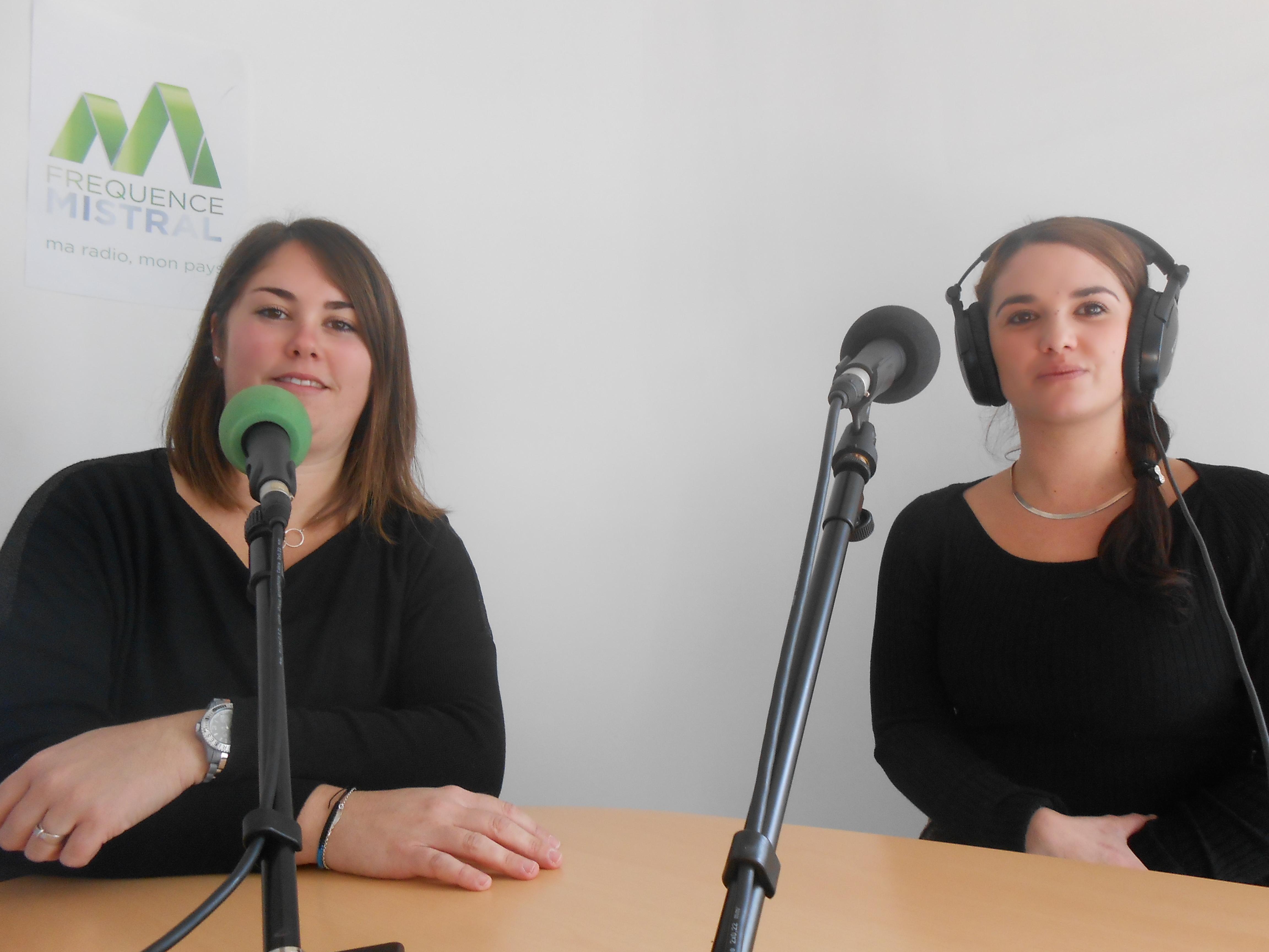 Sarah Pineau et Anaïs Giraud membres de l'assoication Germaine