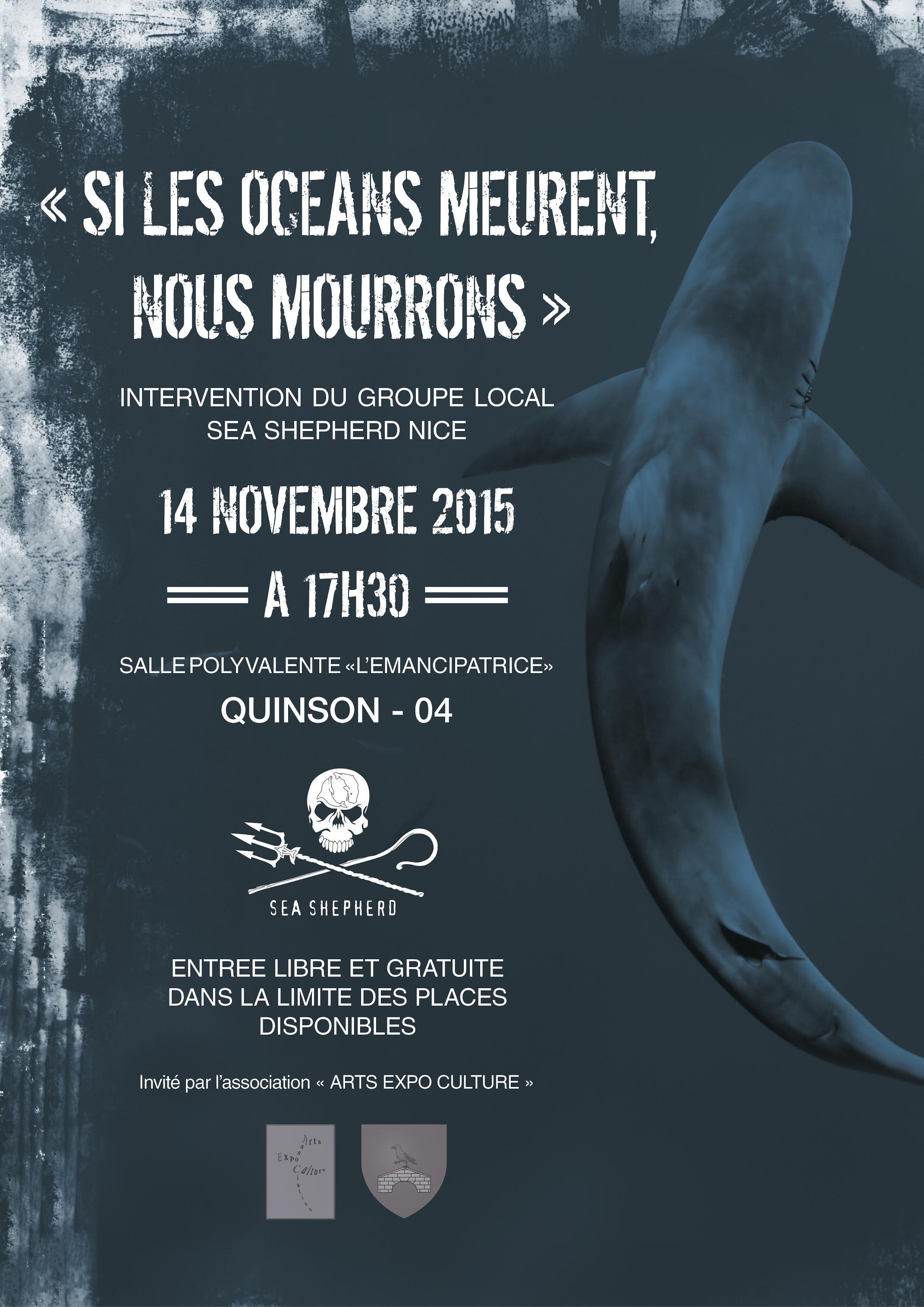 Sea Shepherd, les éco-guerriers des mers à Quinson