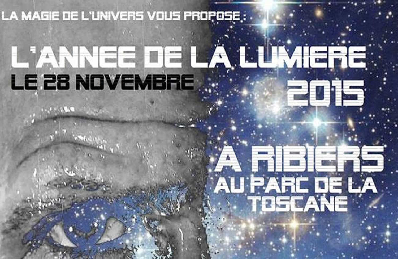 L'année de la lumière : une fête magique prévue à Ribiers !