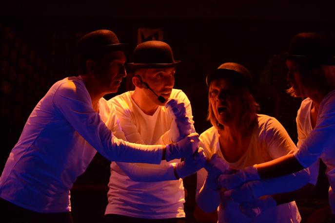 Pour le Téléthon à Digne, rencontre avec une troupe de théâtre Preskopoints !
