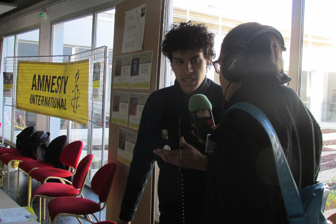 Les jeunes Dignois militent pour les Droits de l'Homme
