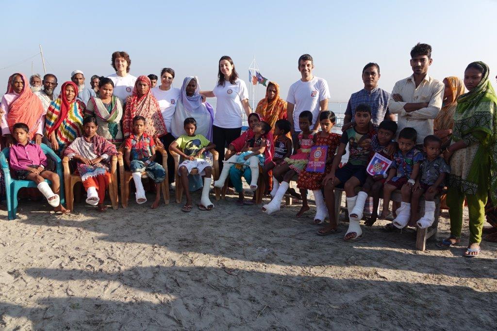 Le Rotary de Manosque soutient une action médicale exemplaire au Bangladesh