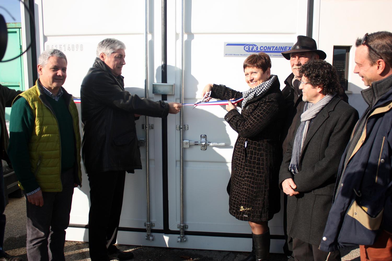 Une recyclerie inaugurée à Château-Arnoux Saint-Auban !