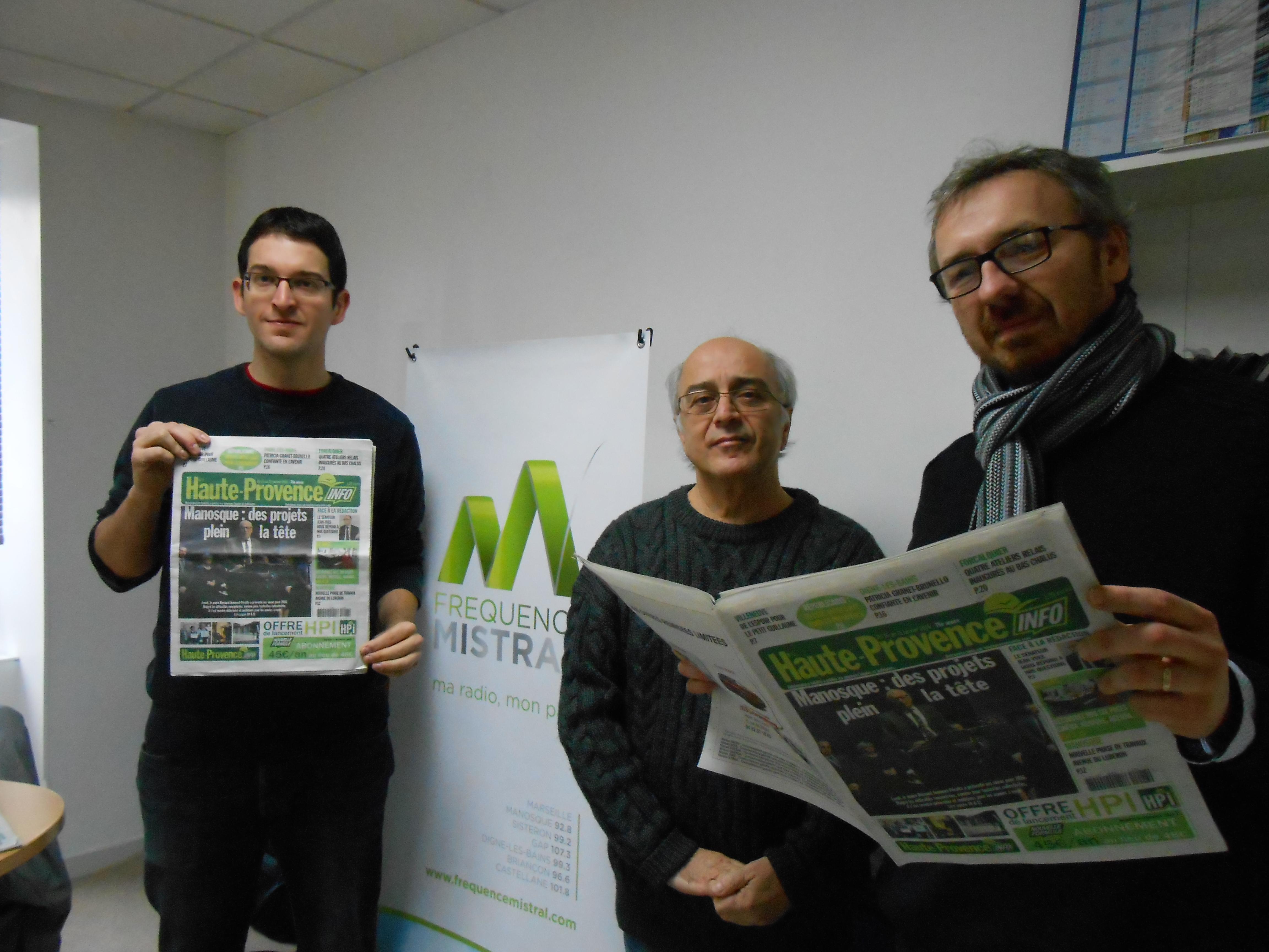 L'hebdomadaire Haute-Provence Info fait peau neuve