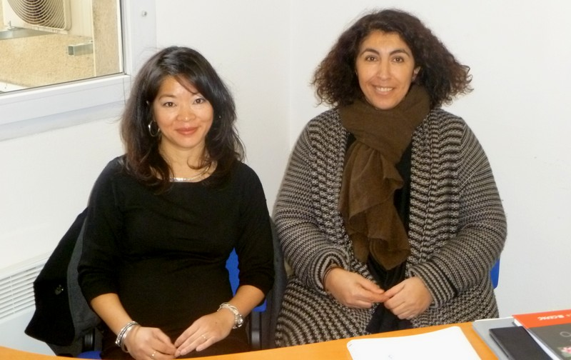 Noémie Brochier et Kheira Paul