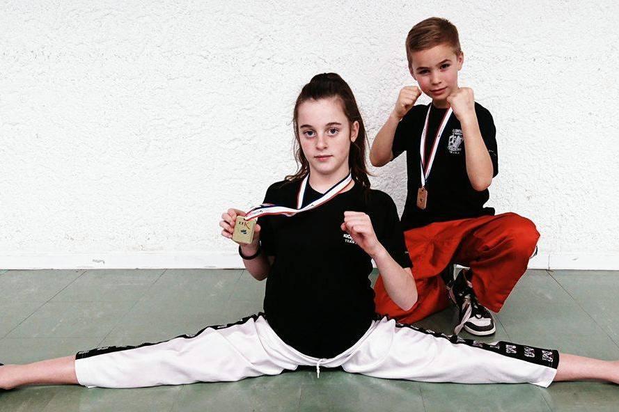 Belles prestations des jeunes du Full contact de Sisteron !