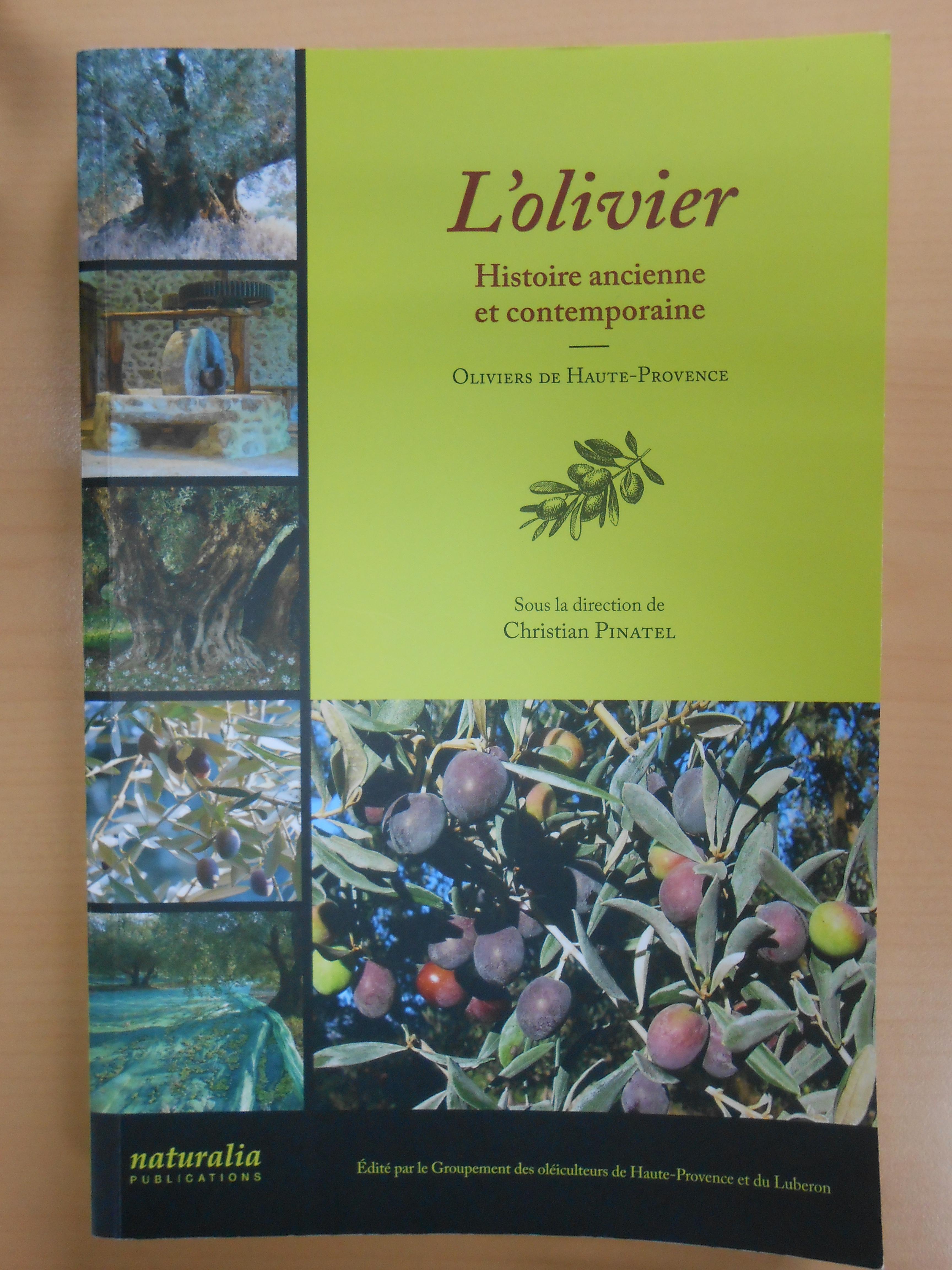 Un livre exceptionnel sublime l'olivier