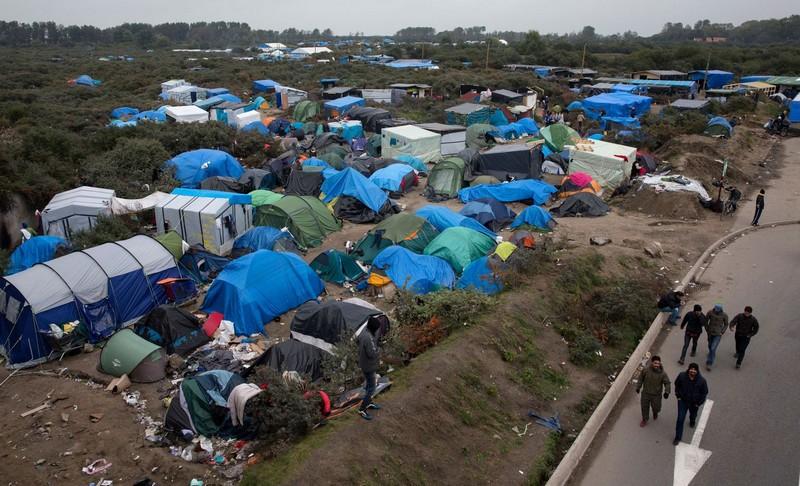 Les migrants à Calais