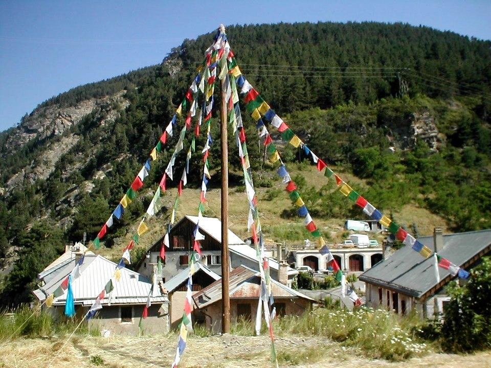 A Serre Chevalier  on fête le nouvel an Tibétain