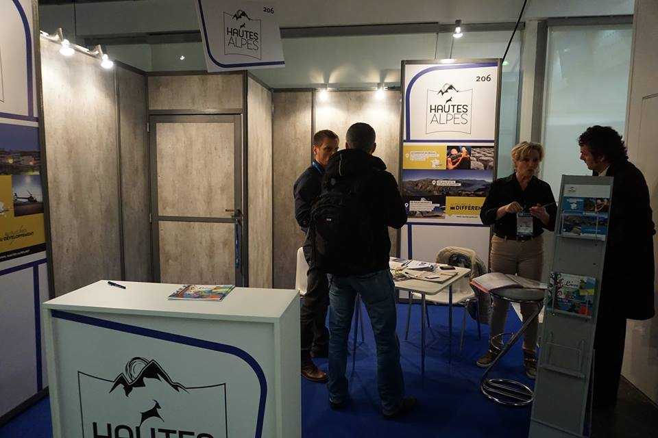 Le stand des Hautes Alpes : Salon des entrepreneurs Paris