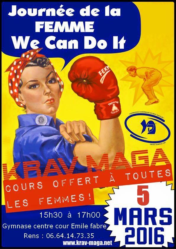 La journée de la femme sera self défense à Gap