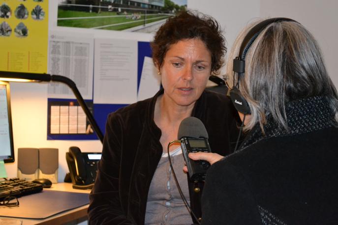 Anne Haycraft Chargée de communication de l'IUT d'Aix-Marseile Site de Digne-les-Bains
