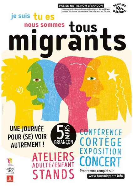 Je suis Tu es Nous sommes Tous migrants